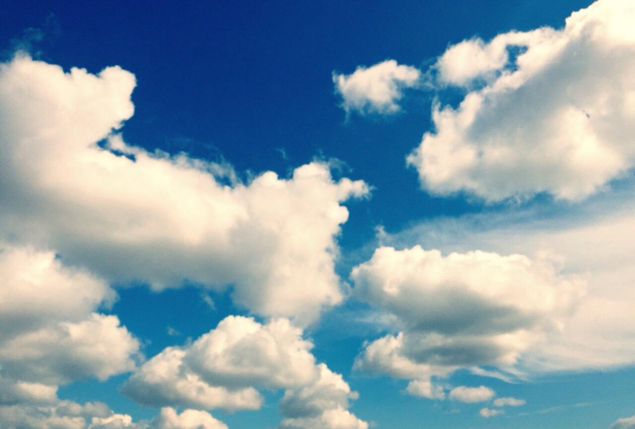 Gracias a todos los que me  envían fotos de nubes